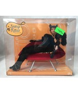 Lounge Kitties Barbie Doll Black Panther Lips Chair African American 200... - $69.95
