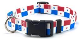 Panama Panamanian Flag Dog Collar by PatriaPet for Large, Medium, Small ... - $11.88+