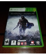 Middle Earth Shadow of Mordor Xbox 360 EXMT **Inv01575** - $15.43
