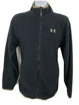Under Armour Black Fleece Zip-up Jacket Men's Size L - $43.55