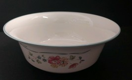"""Lenox Country Cottage Courtyard 8-1/2"""" Salad Bowl Made In Usa - $40.49"""