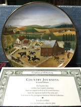 Country Journeys The Franklin Mint Collector Plate Lowell Herrero Folk A... - $19.79