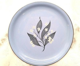 "SET OF 2 HOMER LAUGHLIN Skytone Stardust - Plates 9"" - Vintage 1950s - $15.83"