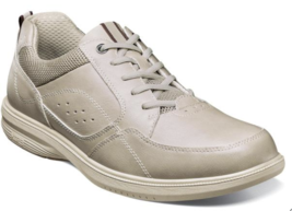 Nunn Bush Kore Walk Moc Toe Oxford Shoes Bone 84811-106 - $71.99