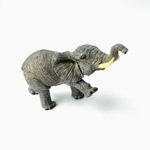 "Dark Gray Walking Elephant 4.5"" Resin Decorative Figurine - $14.80"