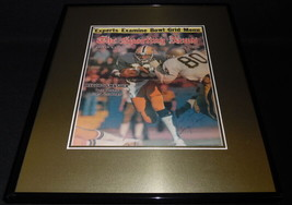 Tony Dorsett Signed Framed ORIGINAL 1977 Sporting News Cover JSA Pitt Co... - $93.49