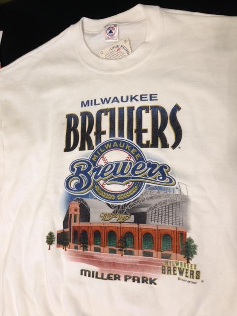 Primary image for Milwaukee Brewers Vintage MLB Miller Park 2001 Sweatshirt (New) by Delta/Ultra F