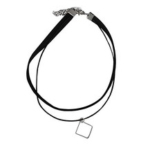 Square Pendant Neck Strap The Fashion Necklace image 2