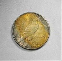 1922-S Silver Peace Dollar VCH AU Coin AI248 - $34.76