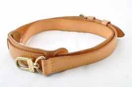 LOUIS VUITTON Leather Shoulder Strap for Keepall 110-128cm LV Auth 10114 - $240.00