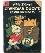 Four Color Comics #763 1957- Grandma Ducks Farm Friends G - $18.92