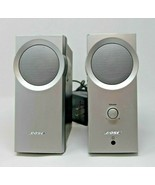 Bose Companion 2 Series Multimedia Desktop Computer Speakers Silver Tested - $45.59
