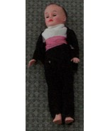 """Vintage Plastic Vogue 10"""" Boy Doll, Hand Made Clothes, With Plastic Stan... - $24.74"""