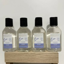 Bath And Body Works Aromatherapy Lot Of 4 Sleep Lavender Body Wash Trave... - $29.92