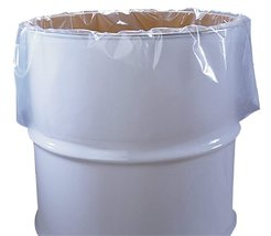 """120 Pack Low Density Clear Drum Liners 38"""" x 65"""" 55 Gal - $317.52"""