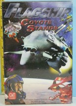 Flagship Coyote Sands Space Card Battle Game Gmt 2002 Shrink Wrap - $19.88