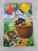 Uncle Wiggily 60 Piece Puzzle Used Balloon Ride 1988 MB Vintage - $7.15