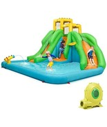 HONEY JOY Inflatable Water Slide, Kids Bounce House w/Two Slides, Climbi... - $858.00