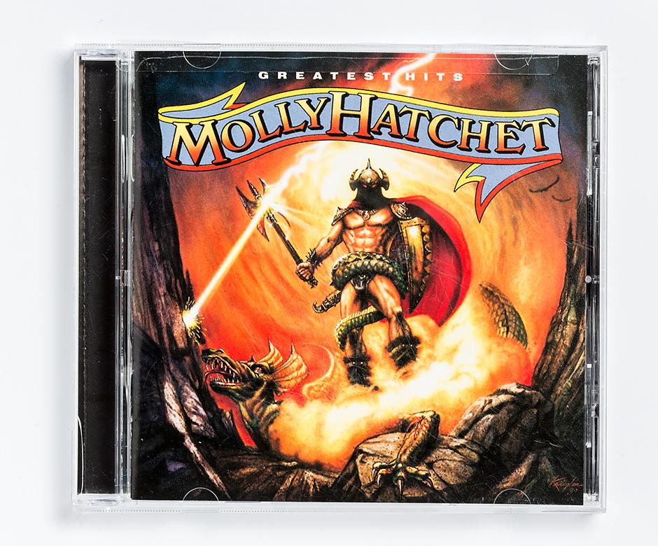 Molly hits f