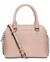 NWT Michael Kors Cindy Mini Crossbody Handbag Ballet Saffiano Leather La... - $2.842,76 MXN