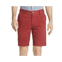 Arrow Flat-Front Vintage Chino Shorts Size 40W Garnet New Msrp $60.00 - $19.99