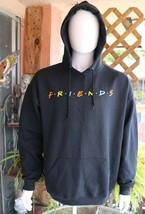 Friends Mens Hoodie Black Sweatshirt Size XL  - $39.99