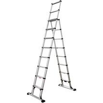Telesteps 14ES 14' Climbing Height Combination Ladder 375lb. Max. Load - $387.85