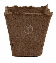 Peat Pots Jiffy Square 2 1/4 Inch Compostable Seed Starting #222 Case Qt... - $164.95