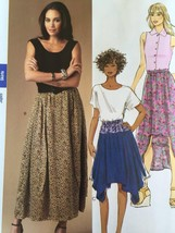 Butterick Sewing Pattern 5991 Misses Ladies  Skirt  Size 16-26 L-XXL New - $17.14