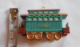 1991 Hallmark Claus & Co. Rr Train Ornament Christmas Xmas Holiday Decoration - $12.07