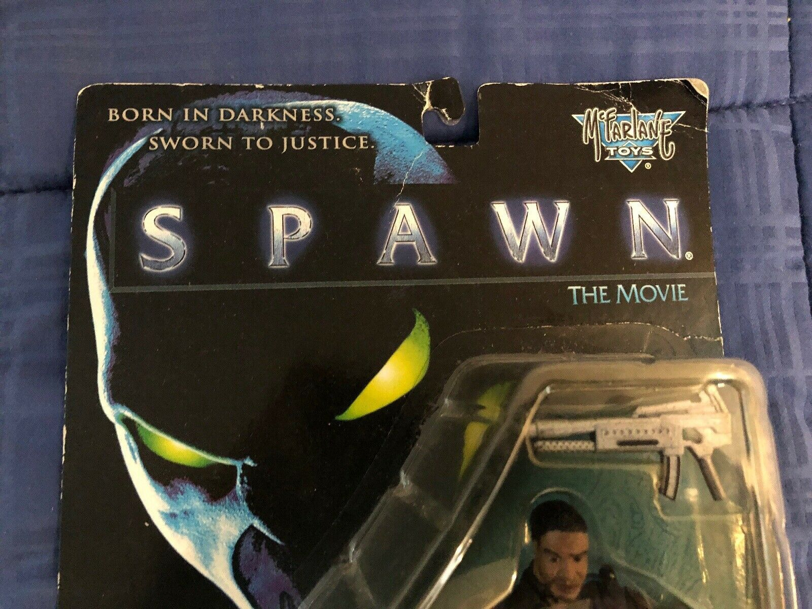 1997 Al Simmons from Spawn the Movie - McFarlane Toys Action Figure