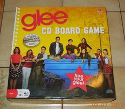 Glee CD Board Game 100% Complete By Cardinal Industries 2010 - $14.03
