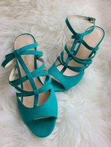 Nine West Sexy peep toe special occasion ankle strap sandals NWOB  - $29.91