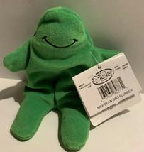 """Flubber Green Goo Guy The Disney Store Parks Plush Mini Bean Bag Doll 7"""" - $9.95"""
