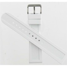 Swiss Army Brand 22mm Large White Rubber Str Dive Master 500 Watch band 004626 - $125.00