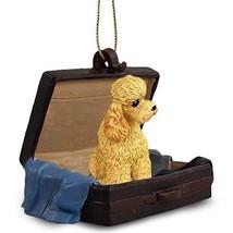 Conversation Concepts Poodle Apricot W/Sport Cut Traveling Companion Orn... - $13.99