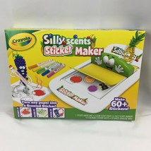 Crayola Silly Scents Sticker Maker Ages 6+ Create 60+ Scented Stickers SEALED - $9.09
