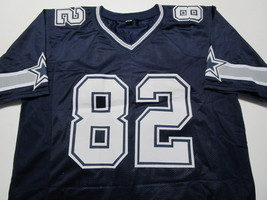 JASON WITTEN / DALLAS COWBOYS / AUTOGRAPHED COWBOYS CUSTOM FOOTBALL JERSEY / COA image 2
