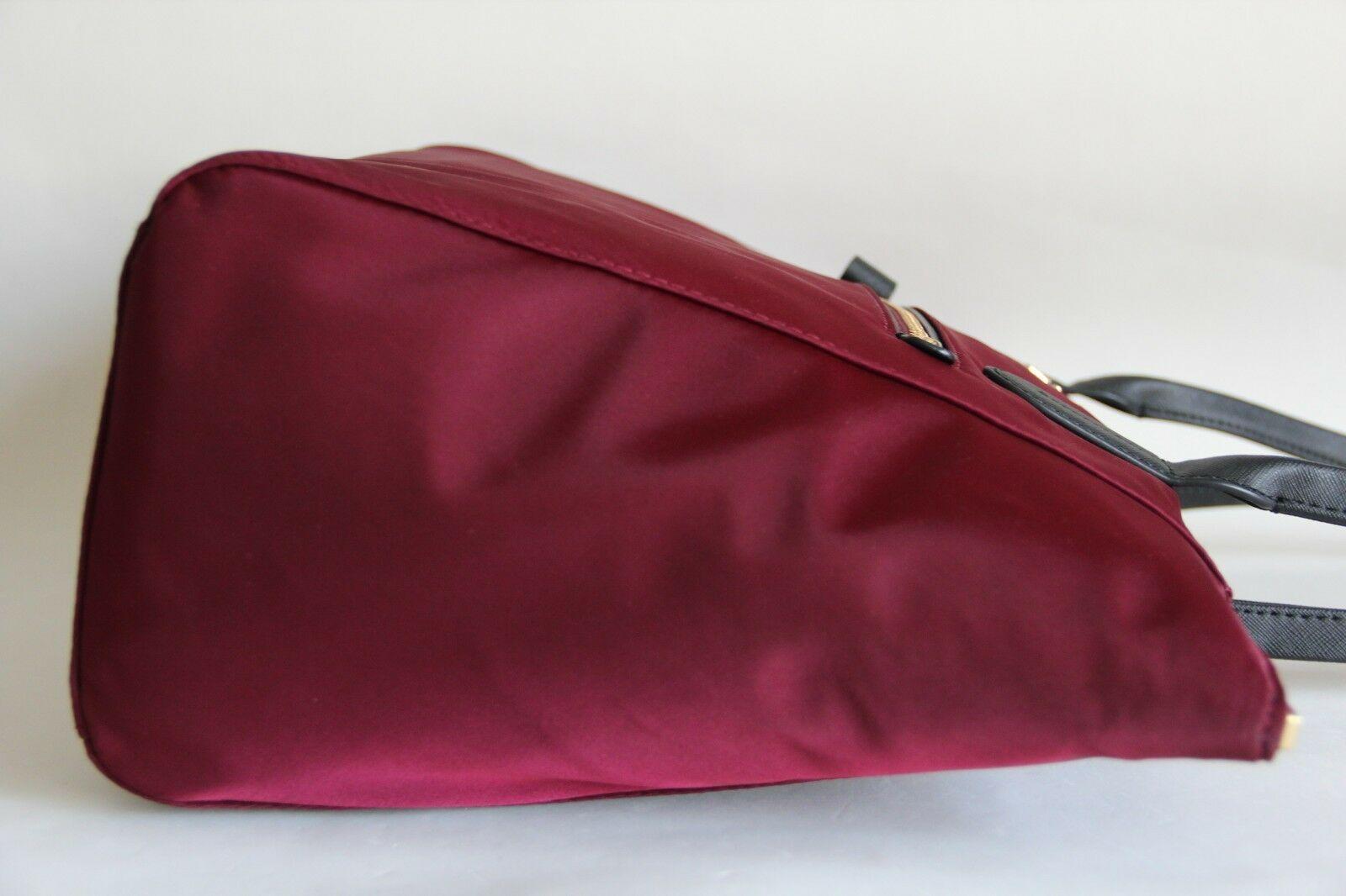 aeab76e201a4 Nwt Michael Kors Kelsey Top Zip Large Nylon and 50 similar items