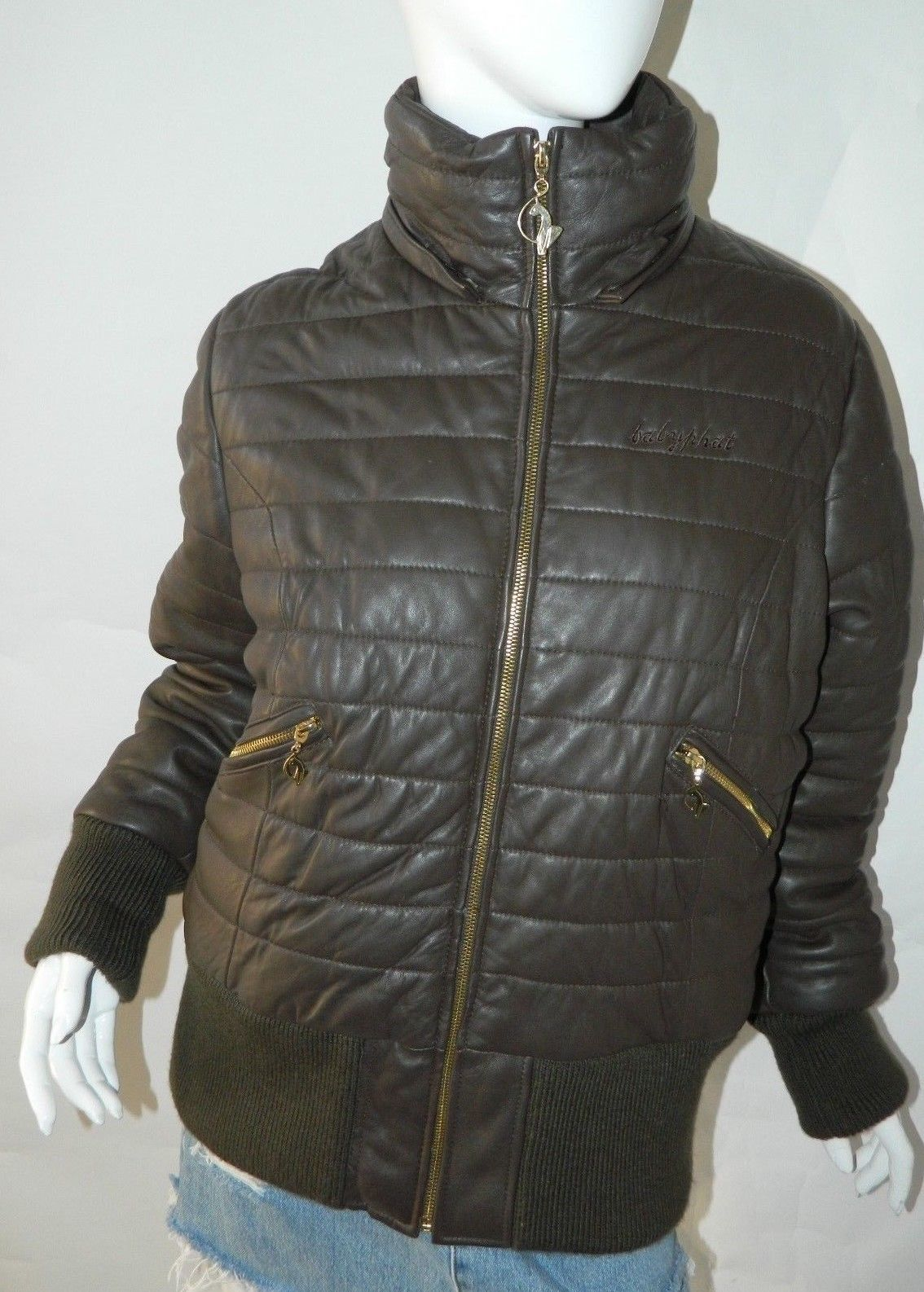 BABY PHAT Jacket Puffer Leather Kimora Lee and 50 similar items. S l1600 77a692819