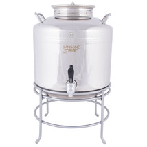 "14""W X 14""D X 18""H Stainless Steel 3 Gallon Beverage Dispenser With Wire... - $626.12"