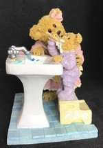 2005 Boyds Bears & Friends - Bearstone Collection Momma & Taylor Bedtime Routine - $28.00