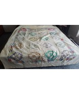 Older Well used Hexagon Pattern Quilt - $35.00