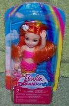 "Barbie Sweetville DREAMTOPIA Sprite 5.5"" Doll Orange Hair with Yellow St... - $12.88"