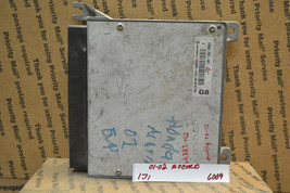 2001 2002 Honda Accord Engine Control Unit ECU 37820P8CA61 Module 6009-1j1 - $14.99