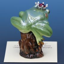 Birthstone Tree Frog Prince January Garnet Miniatures by Hagen-Renaker image 3