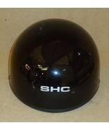 SHC 50 DOT Motorcycle Helmet Size S/M Black Plastic Foam Nylon - $31.63