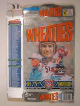 Empty Wheaties Box 1994 18oz Nfl 75th Anniversary [Z202b7] - $3.99