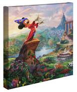 Thomas Kinkade Studios Fantasia Wrap 14 x 14 Gallery Wrapped Canvas Disney - $89.00