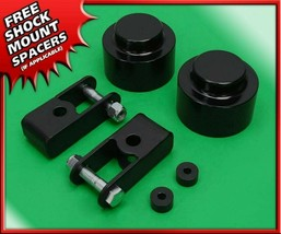 "Fits 07-20 Chevy Tahoe 1500 4WD 2"" Rear Lift Black Billet Kit + Shock Ex... - $70.00"